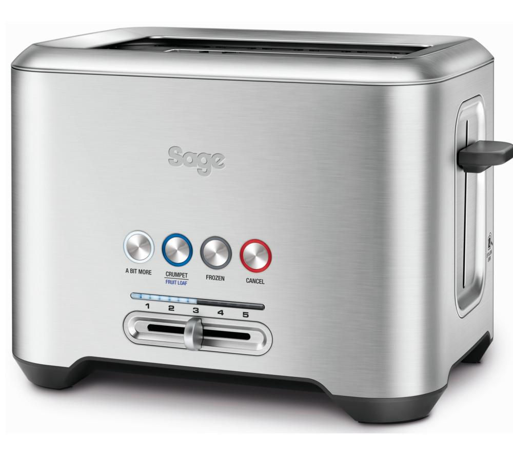Compare prices for Sage by Heston Blumenthal A Bit More 2-Slice Toaster