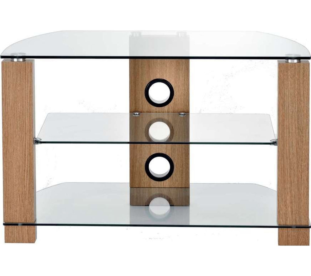 TTAP Vision 800 TV Stand - Light Oak