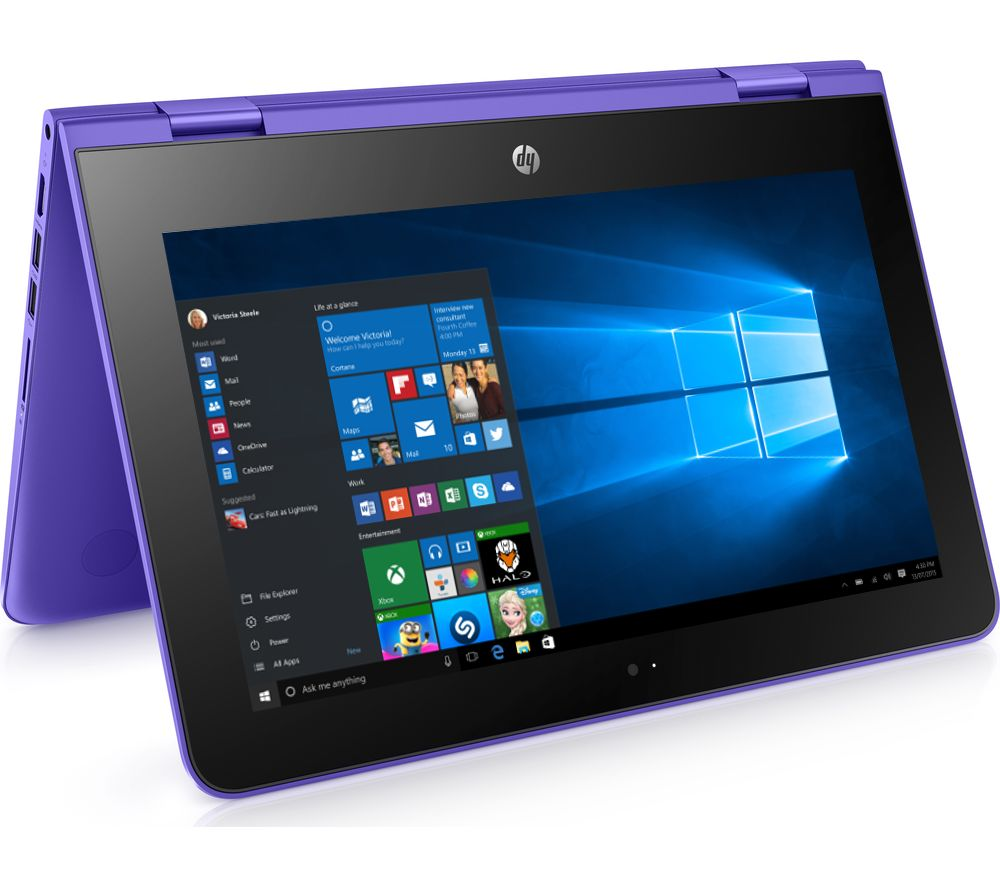 "HP Stream x360 11.6"" 2 in 1 - Violet Purple + Office 365 Personal"
