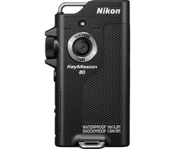NIKON KeyMission 80 Action Camcorder - Black