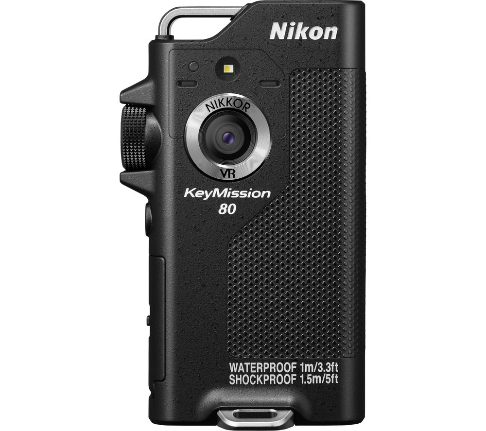 NIKON KeyMission 80 Action Camcorder - Black