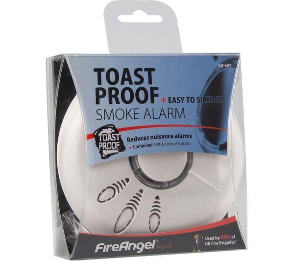 buy fireangel so 601 toast proof smoke alarm free. Black Bedroom Furniture Sets. Home Design Ideas