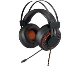 AFX H0317 7.1 Gaming Headset - Black & Orange
