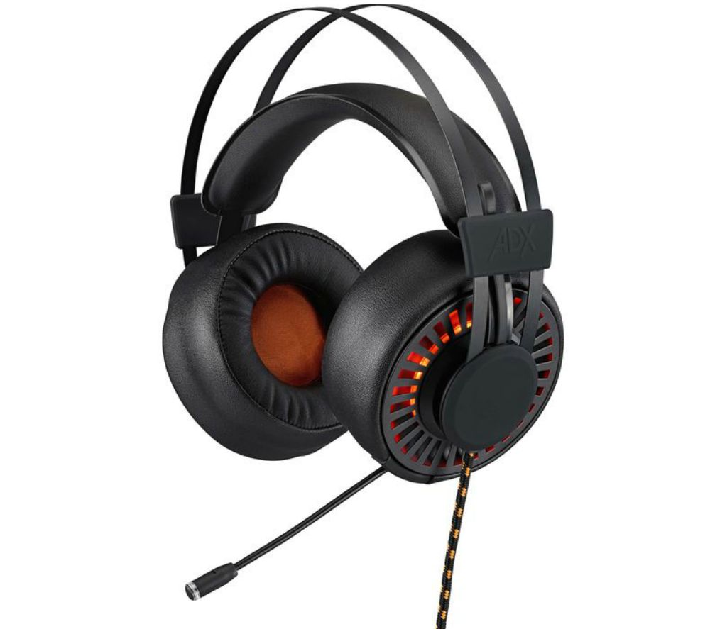 ADX H0317 7.1 Gaming Headset - Black & Orange