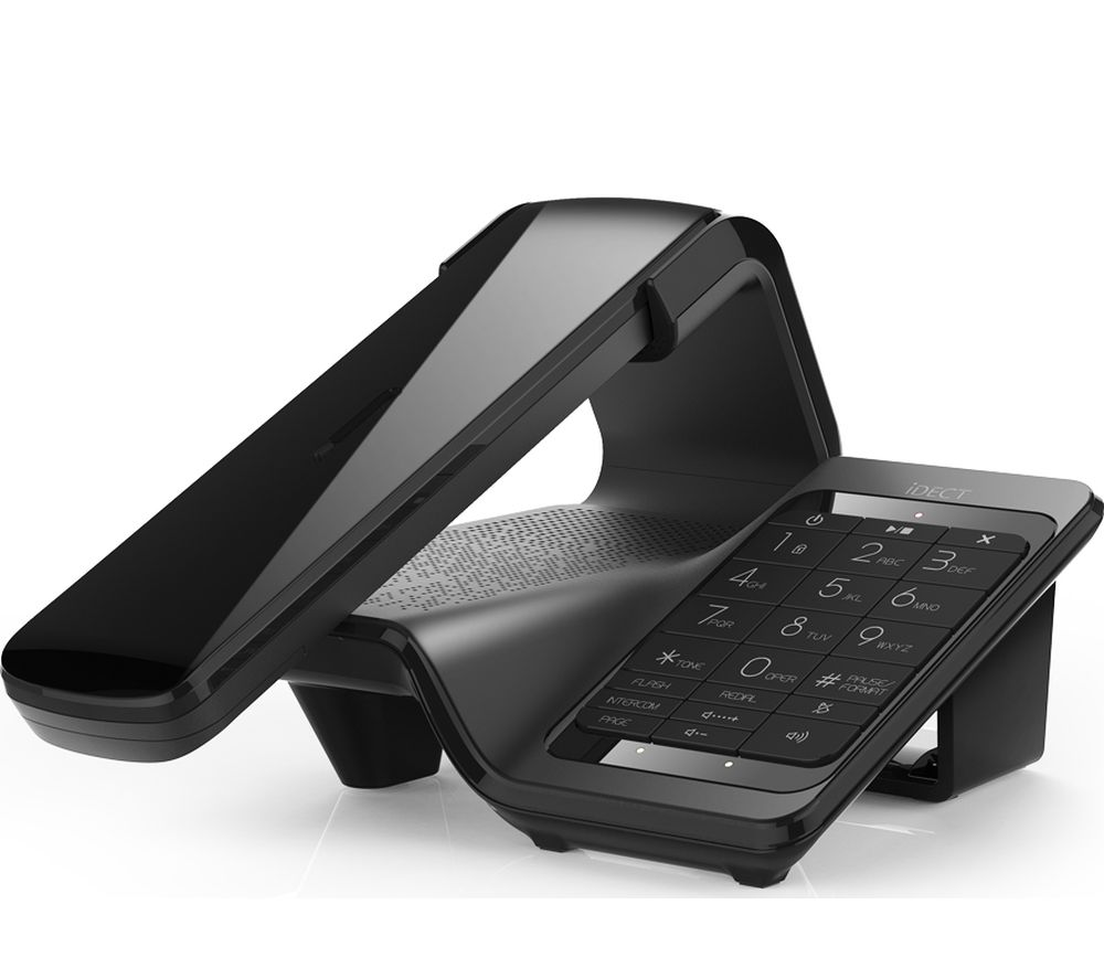 Compare prices for I-Dect Lloyd Plus Cordless Phone with Answering Machine Twin Handsets