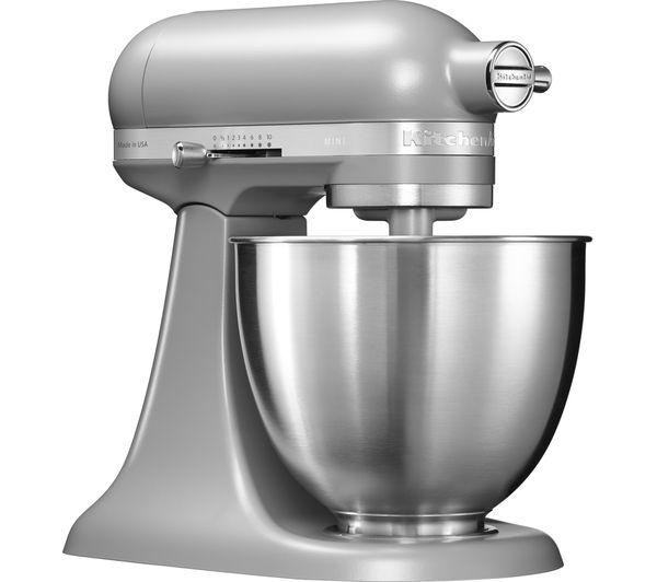 Wonderful KITCHENAID Artisan Mini 5KSM3311XBFG Stand Mixer   Matte Grey