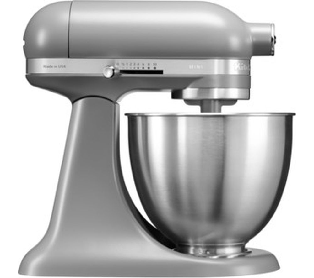 buy kitchenaid artisan mini 5ksm3311xbfg stand mixer matte grey free delivery currys. Black Bedroom Furniture Sets. Home Design Ideas