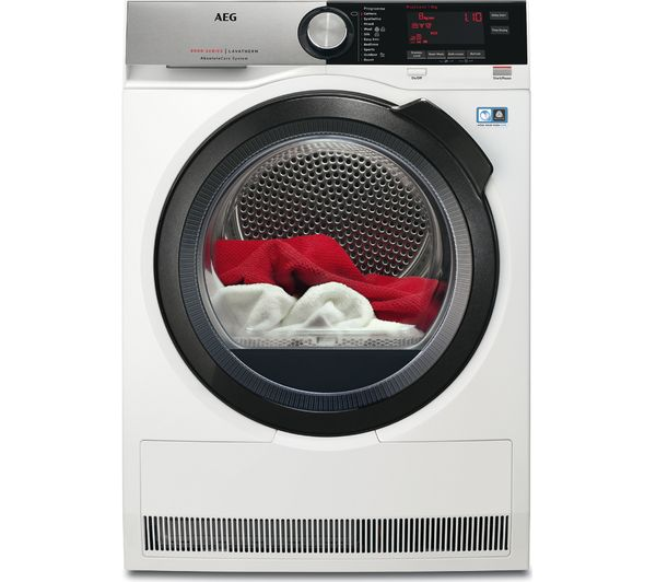 Image of AEG AbsoluteCare T8DSC869C Heat Pump Tumble Dryer - White