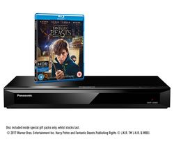 PANASONIC DMP-UB400EBK 4K Ultra HD Blu-ray Player with 4K Ultra HD Upscaling