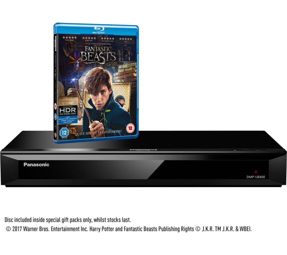 panasonic dmp ub400ebk 4k ultra hd blu ray player. Black Bedroom Furniture Sets. Home Design Ideas