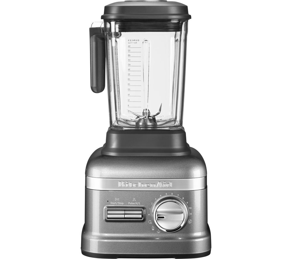 buy kitchenaid artisan power plus 5ksb8270bms blender medallion silver free delivery currys. Black Bedroom Furniture Sets. Home Design Ideas