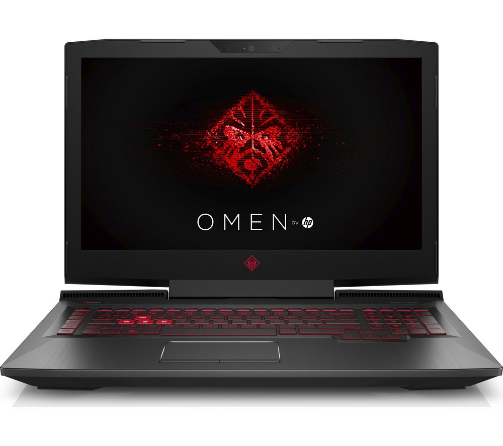 "HP OMEN 17-an054na 17.3"" Gaming Laptop - Shadow Black + Office 365 Personal"
