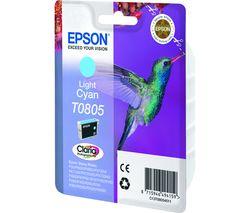 EPSON T0805 Hummingbird Light Cyan Ink Cartridge