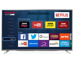 "SHARP LC-43CUG8462KS 43"" Smart 4K Ultra HD LED TV"