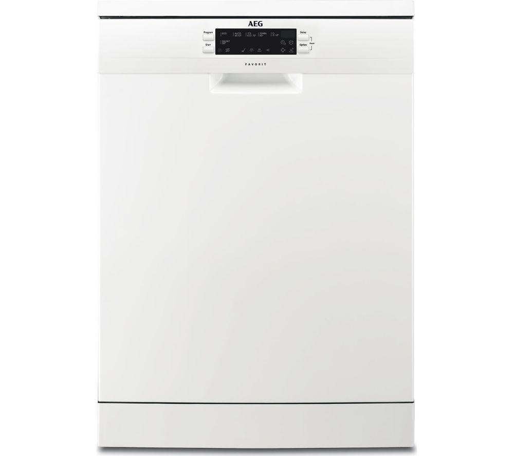 Image of AEG FFE62620PW Full-size Dishwasher - White, White