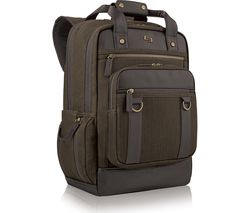 "SOLO Bradford Crosby 15.6"" Laptop Backpack - Olive"