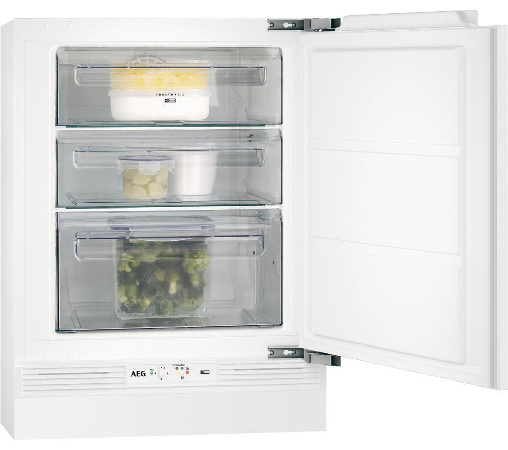 Image of AEG ABE68216NF Integrated Undercounter Freezer
