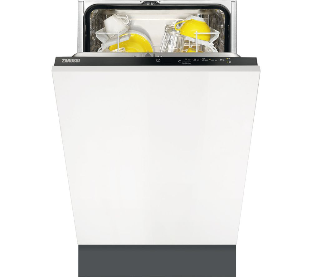 Compare retail prices of Zanussi ZDV12004FA Slimline Integrated Dishwasher to get the best deal online