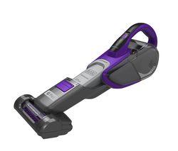 BLACK + DECKER DVJ325BFSP-GB Handheld Vacuum Cleaner - Grey & Purple