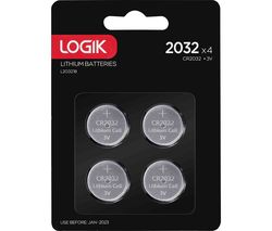 2032 Batteries - Pack of 4