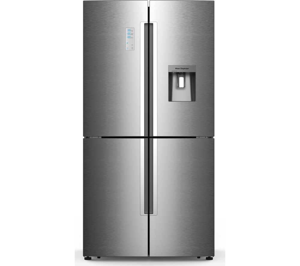 KENWOOD K4D556X18 Fridge Freezer - Inox