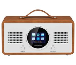 SANDSTROM SL-IBTB18 Portable DAB+/FM Smart Bluetooth Radio - Brown