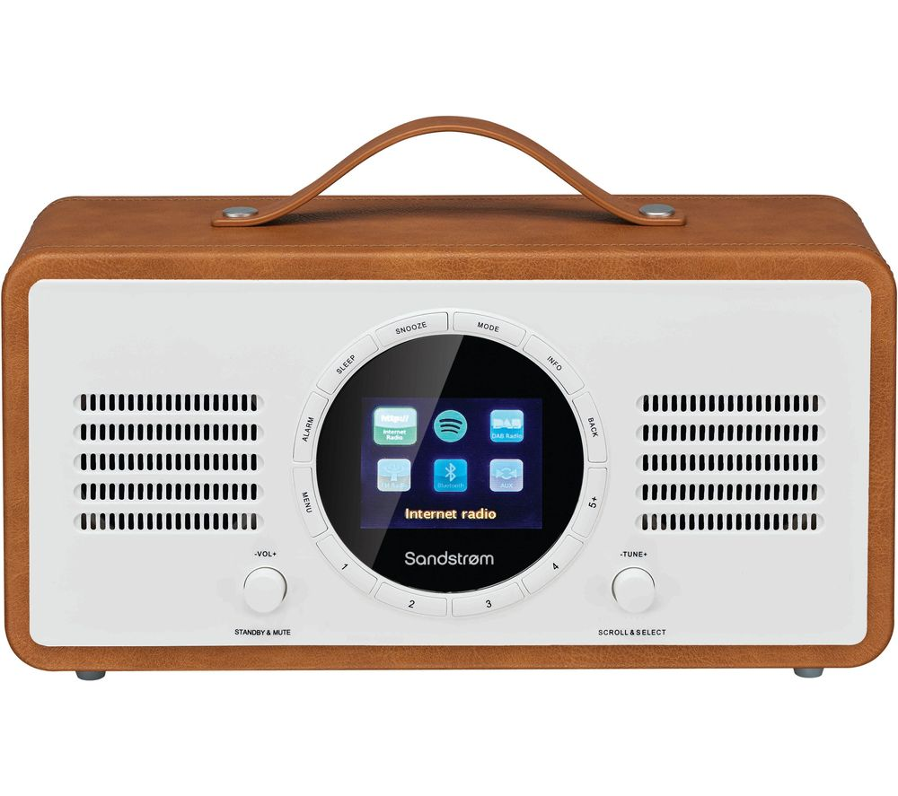 buy sandstrom sl ibtb18 portable dab fm smart bluetooth. Black Bedroom Furniture Sets. Home Design Ideas