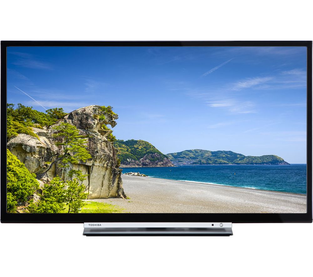 "32"" TOSHIBA 32D3753DB Smart LED TV with Built-in DVD Player, Gold Review thumbnail"