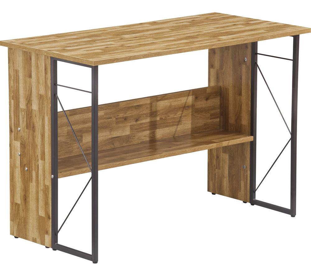 ALPHASON Rhodes AW3524 Desk - Walnut