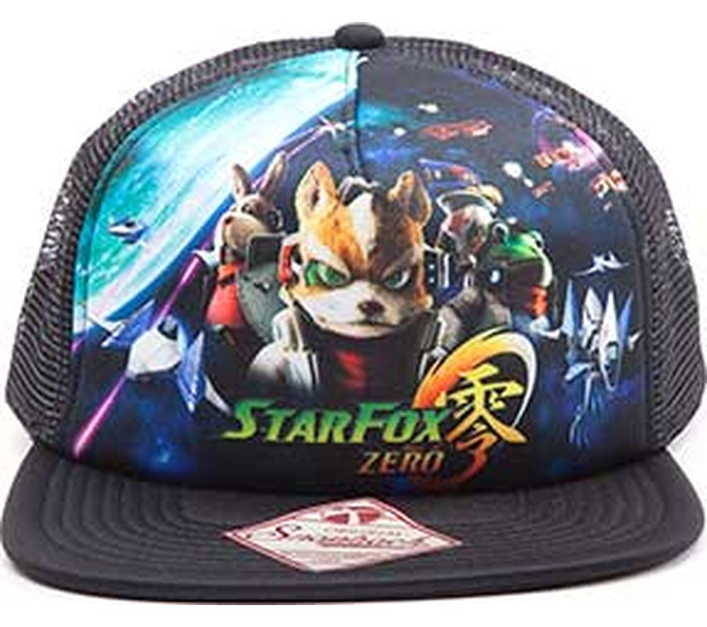 NINTENDO Starfox Snapback Trucker Cap