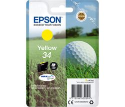 EPSON Golf Ball 34 Yellow Ink Cartridge
