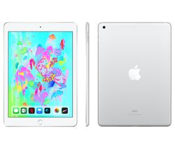 "APPLE 9.7"" iPad - 128 GB, Silver (2018)"