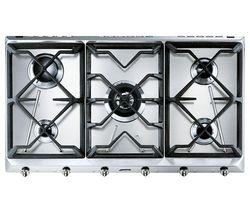 SMEG Cucina SRV596GH5 Gas Hob - Stainless Steel