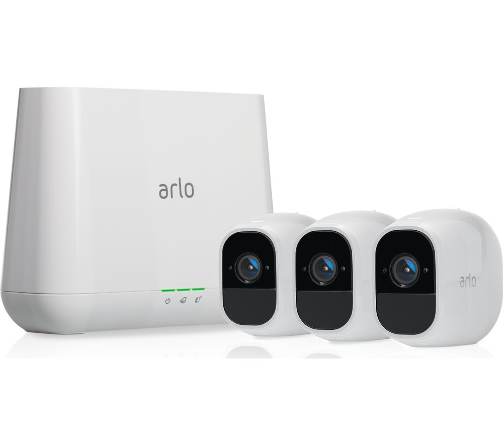 ARLO Pro 2 1080p Full HD Wireless Security System - 3 Cameras
