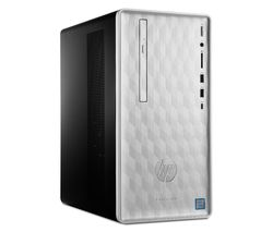 HP Pavilion 590-p0032na Intel® Core™ i3 Desktop PC - 1 TB HDD, Silver
