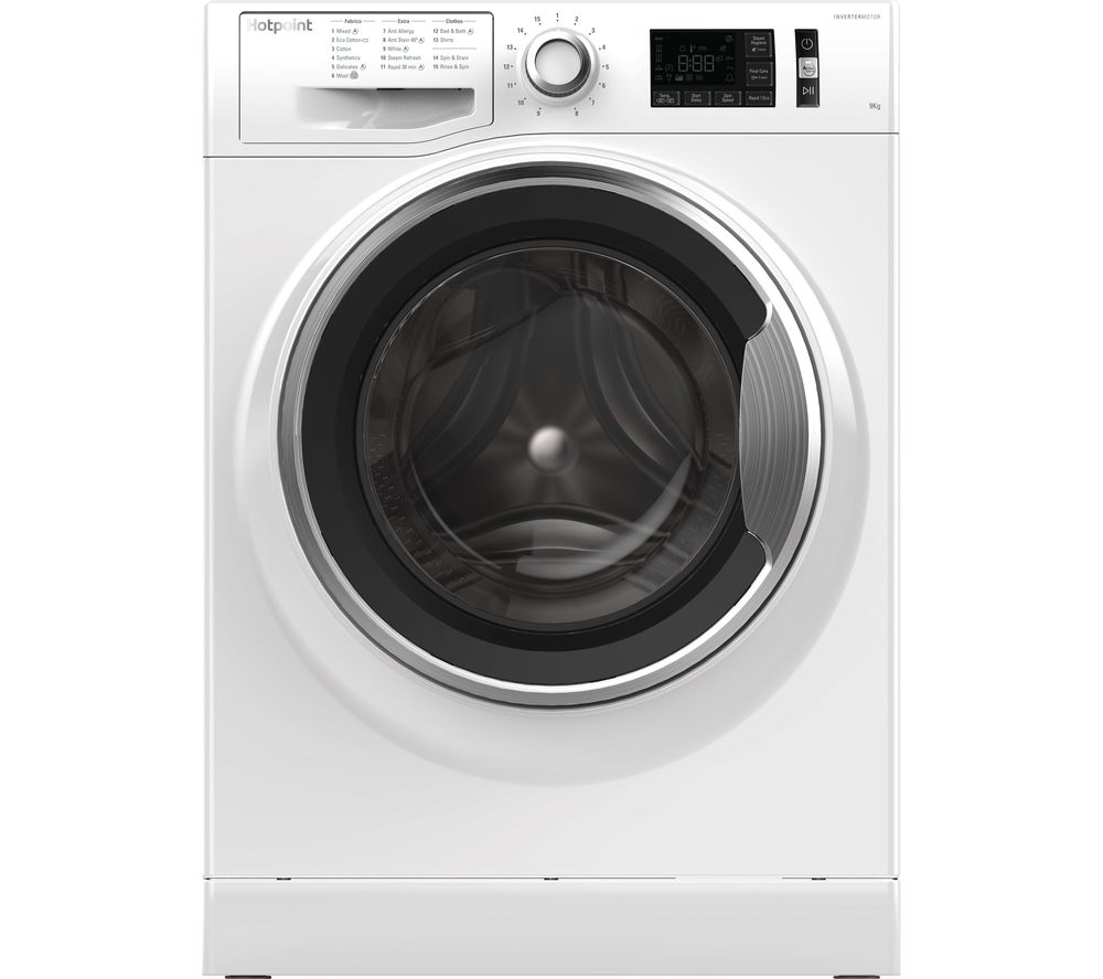 Hotpoint Active Care NM11 964 WC A 9 kg 1600 Spin Washing Machine - White, White