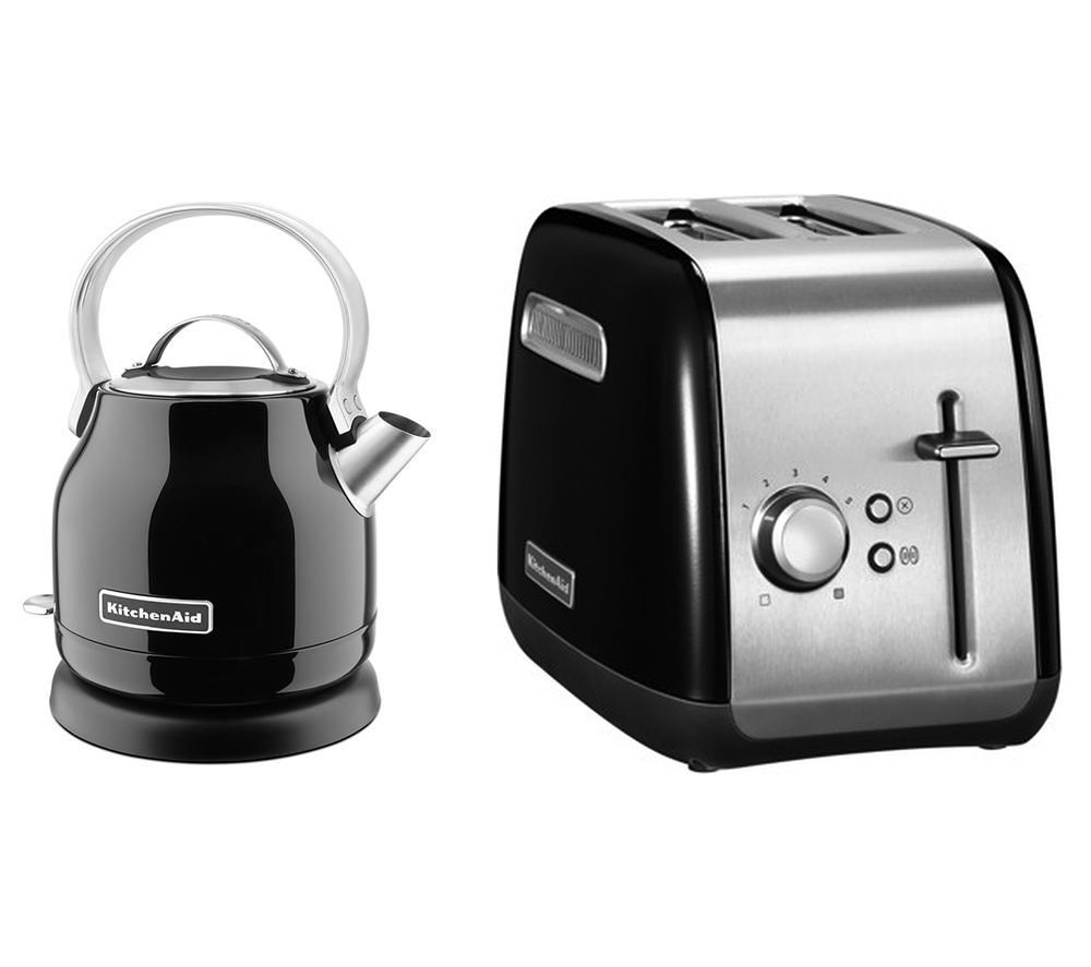 Black Kitchenaid Toaster: Buy KITCHENAID Traditional Kettle & Toaster Bundle