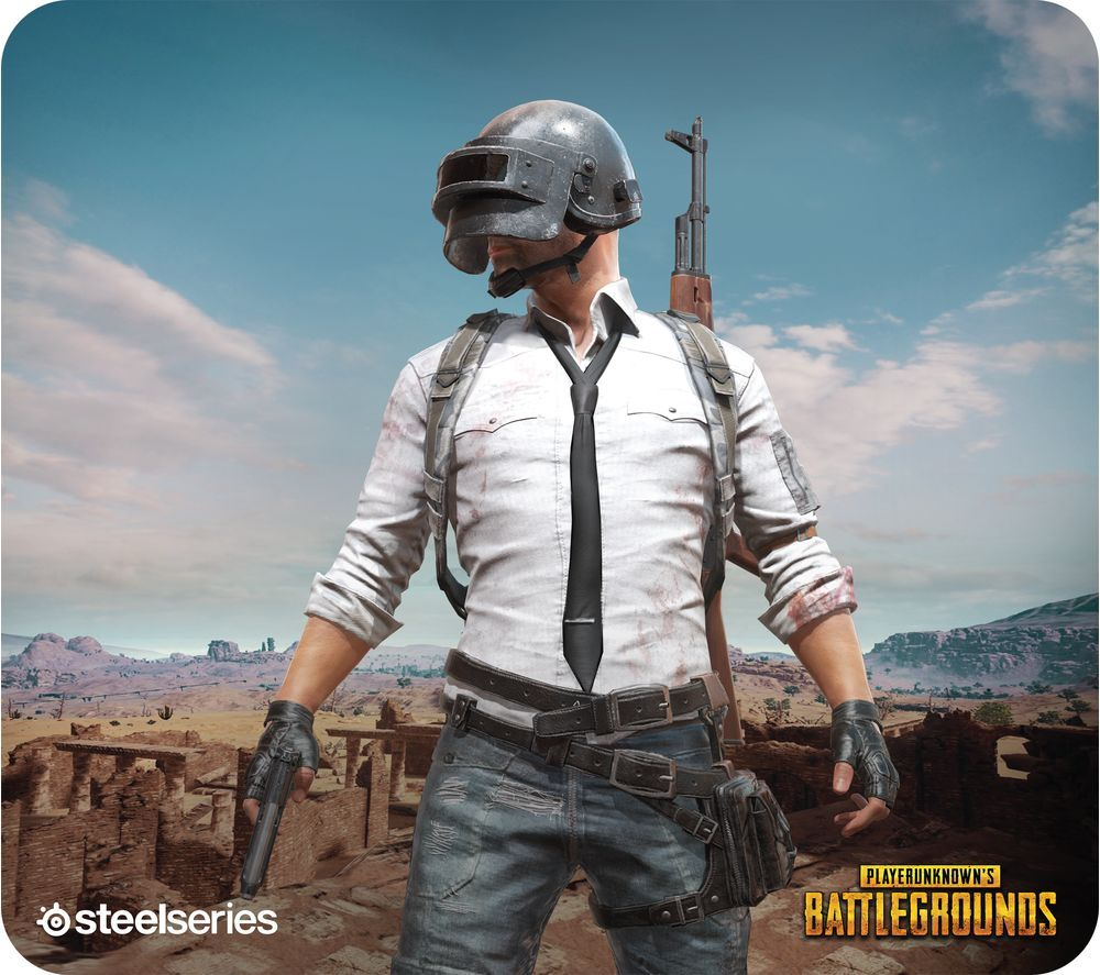 SteelserieS PUBG Miramar Limited Edition QcK Gaming Surface