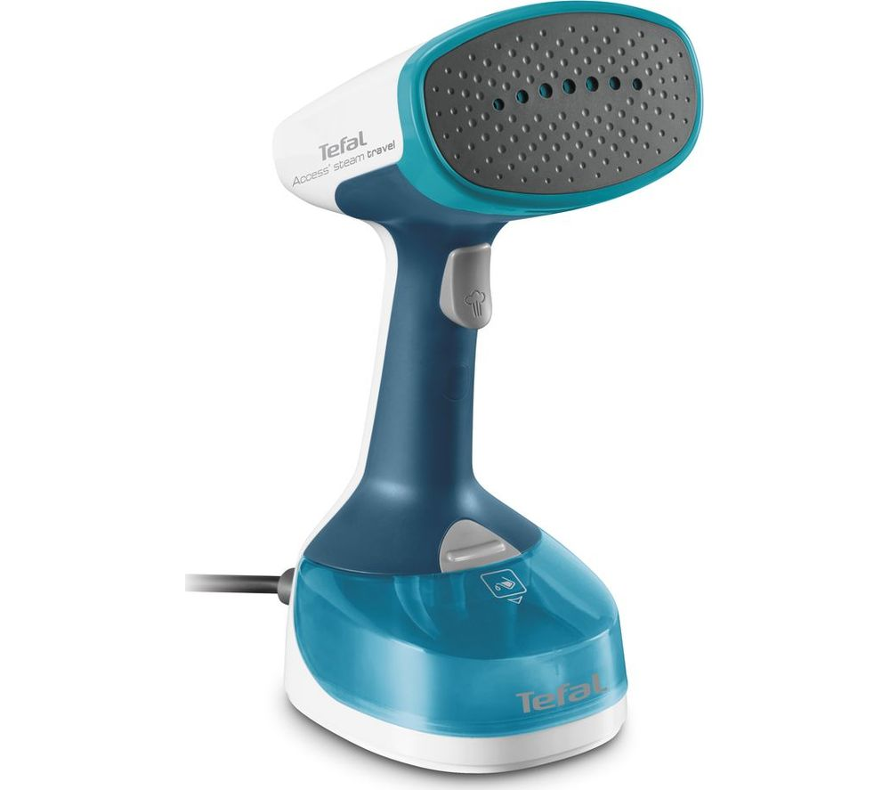 TEFAL Access DT7050 Travel Hand Steamer - Blue & White