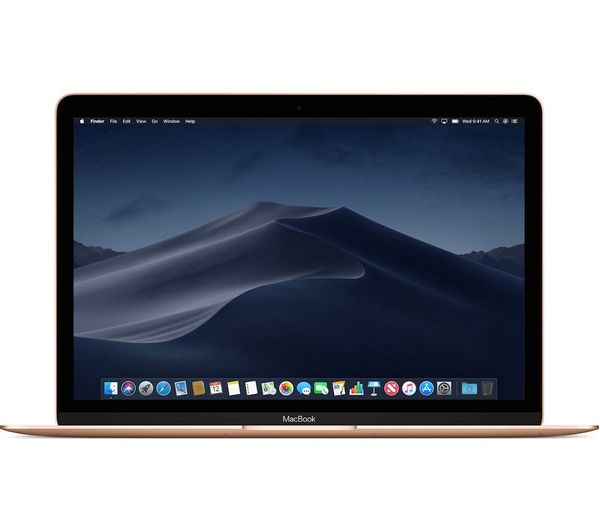 "Image of APPLE MacBook 12"" with Retina Display (2018) - 512 GB SSD, Gold"