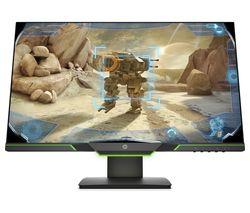 HP 25X 3WL50AA#ABU Full HD Gaming Monitor, 24.5, Black