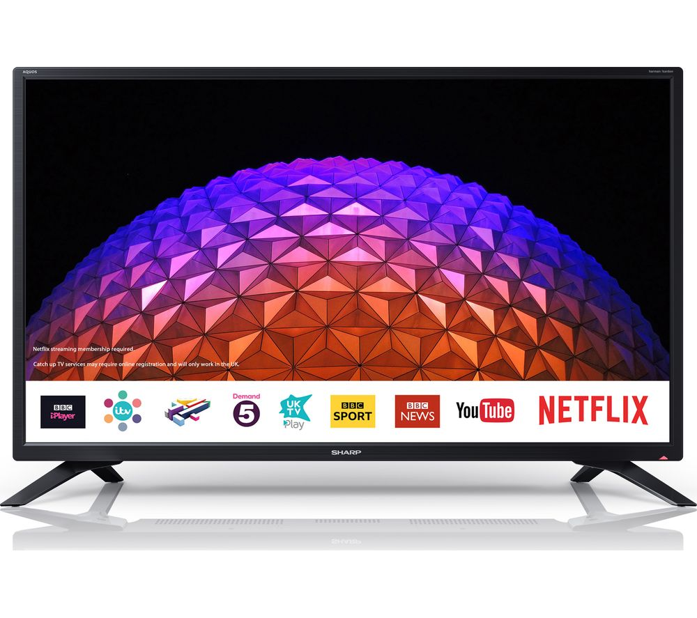 32″ SHARP LC-32HI5232KF  Smart LED TV, Gold