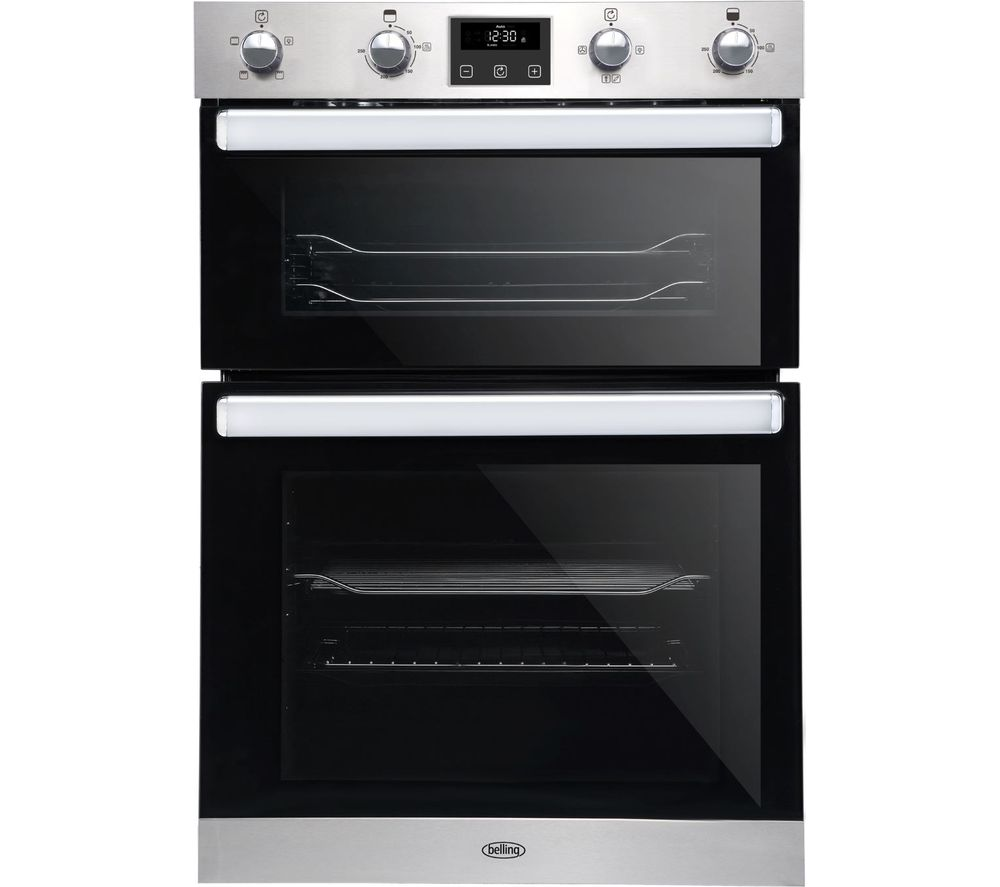 BELLING BI902FP Electric Double Oven - Stainless Steel