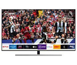 """SAMSUNG QE55Q80RATXXU 55"""" Smart 4K Ultra HD HDR QLED TV with Bixby"""