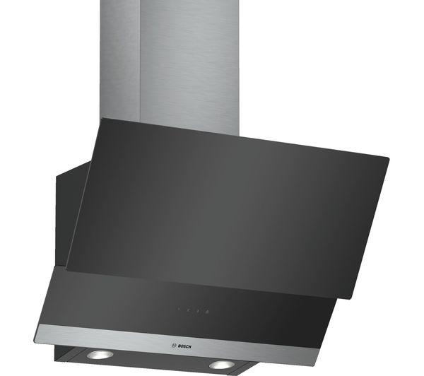 Image of BOSCH Serie 2 DWK065G60B Chimney Cooker Hood - Black