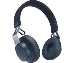 Move Style Wireless Bluetooth Headphones - Navy Blue