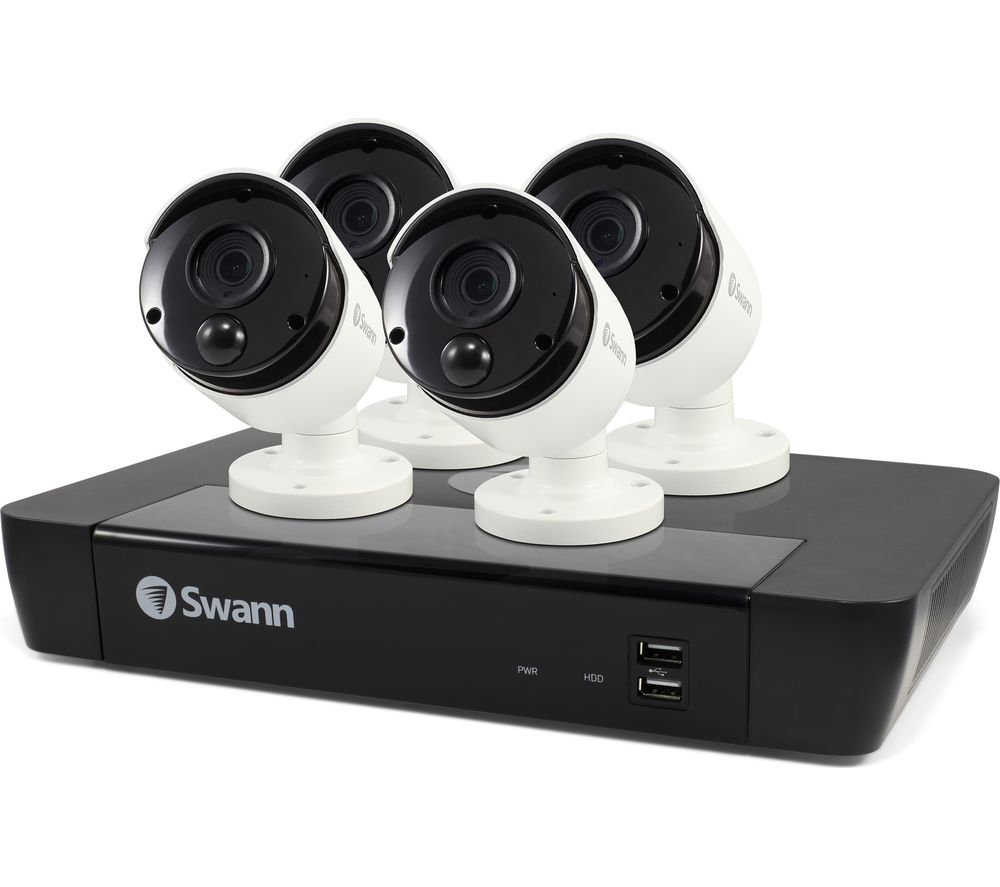 SWANN SWNVK-885804-UK 8-Channel 4K Ultra HD Security System - 2 TB, 4 Cameras