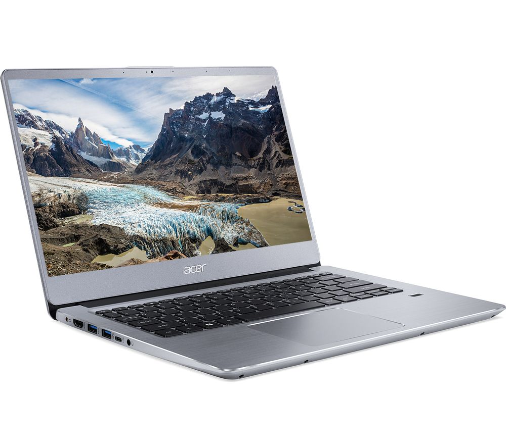 "Image of ACER Swift 3 14"" AMD Ryzen 3 Laptop - 256 GB SSD, Silver, Silver"