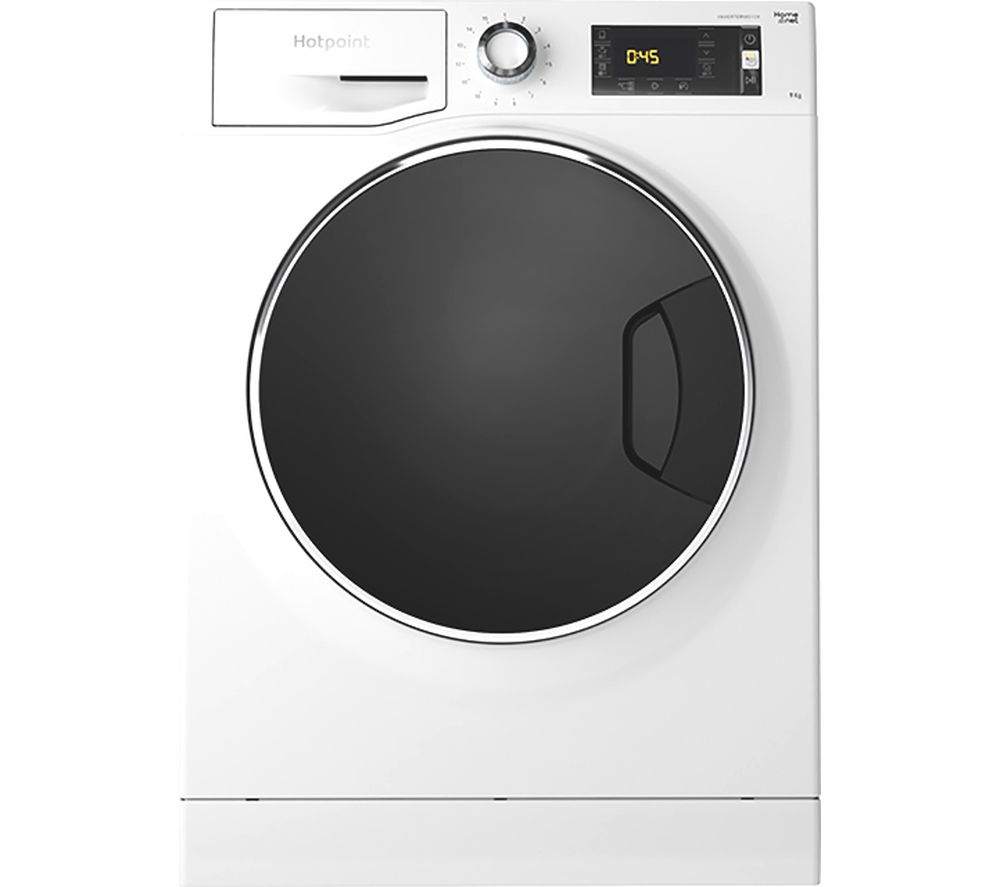 Image of HOTPOINT ActiveCare NLLCD 947 WD ADW UK WiFi-enabled 9 kg 1400 Spin Washing Machine - White, White