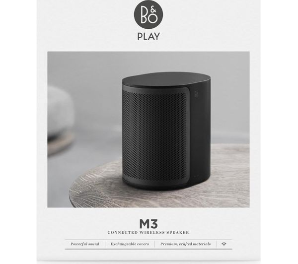 beoplay m3 wireless speaker black